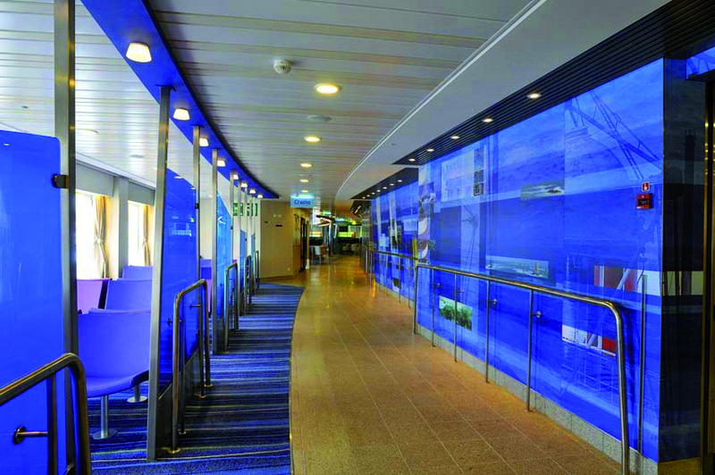 Interior of Brittany Ferries Amorique - Photo supplied by Brittany Ferries