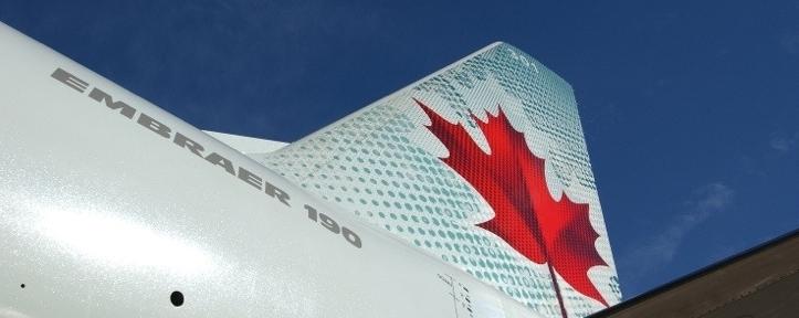 Air Canada tailfin