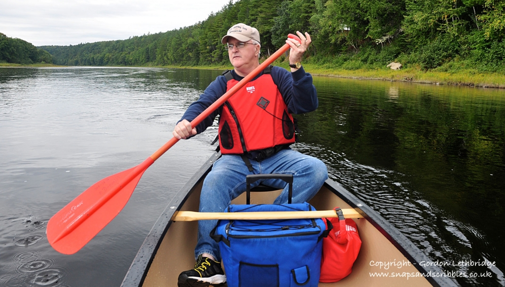 Canoeing the Miramichi