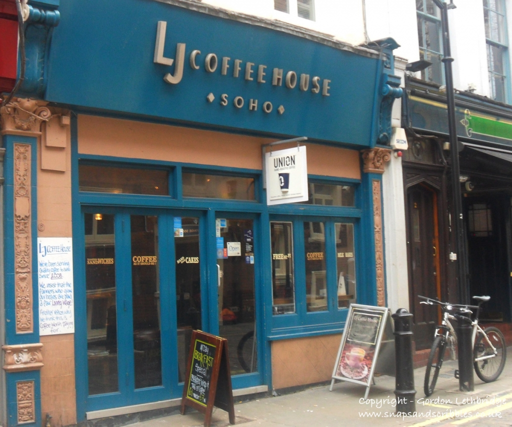 LJ Coffee House in Soho