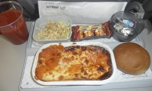 Inflight meal - Aegean Airlines