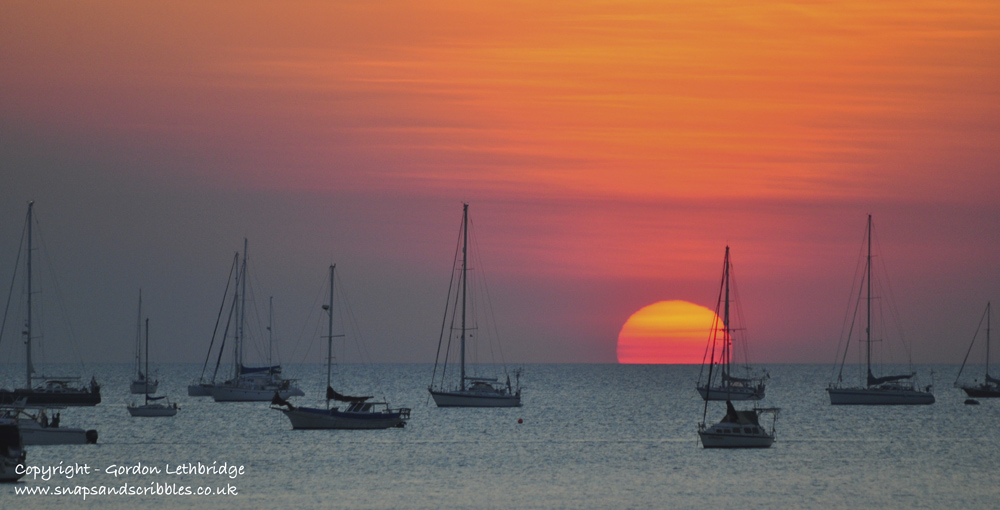 Darwin sunsets - harbour