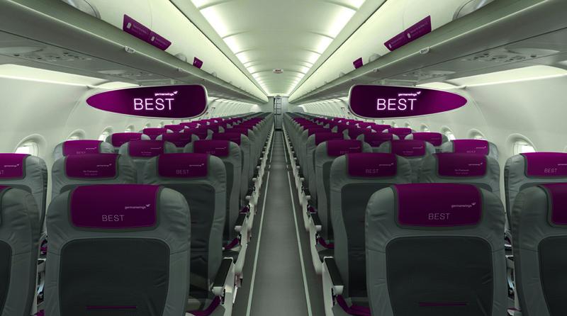 Germanwings Interior