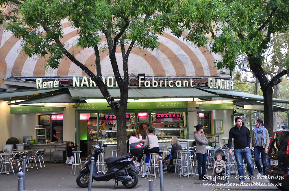 Rene Nadone Glacier - sells some of the best ice-cream in Lyon