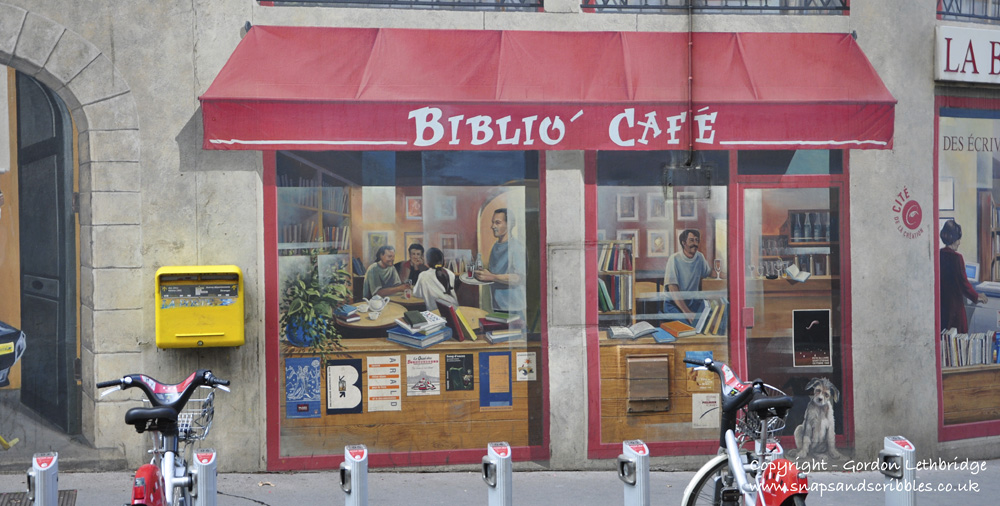 A Lyon cafe where you will not get a coffee