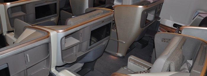 Cabin Products: Singapore Airlines