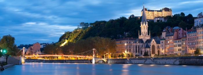 Lyon – between two rivers