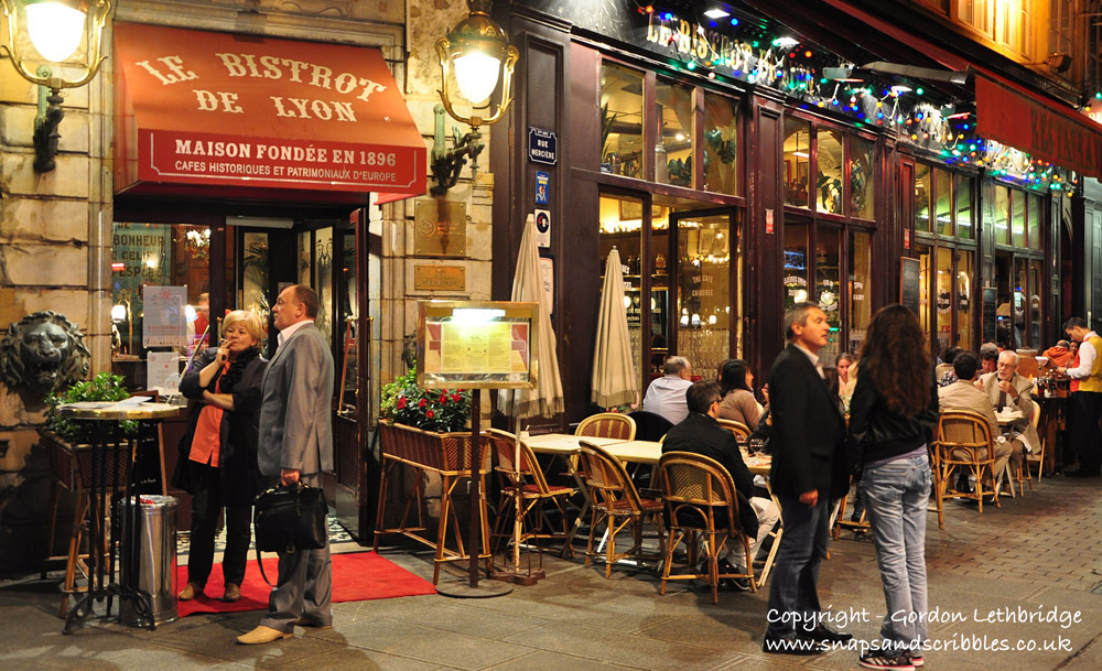 Le Bistrot de Lyon on Rue