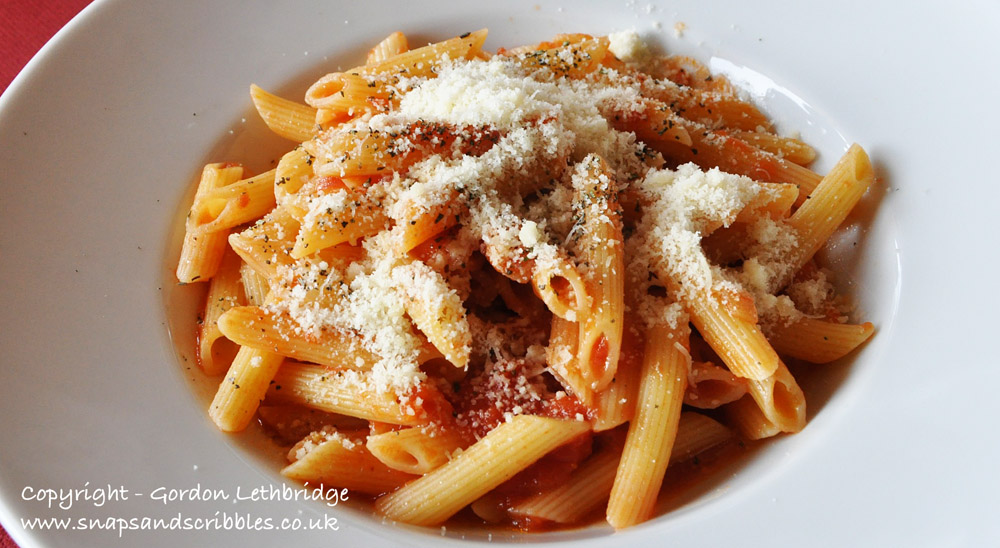 Lunches are usually based around pasta or gnocchi. They are always a leisurely affair