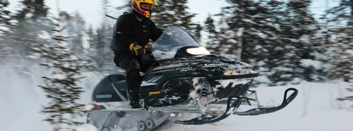 Newfoundland snowmobile adventure