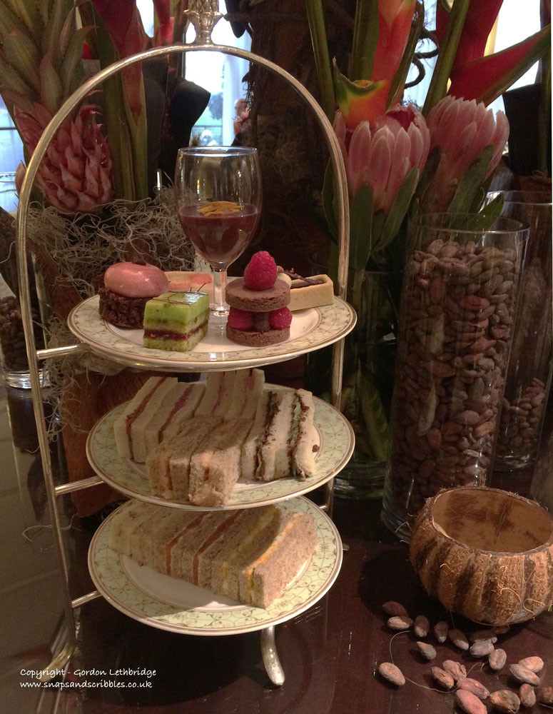Paul Young's afternoon tea
