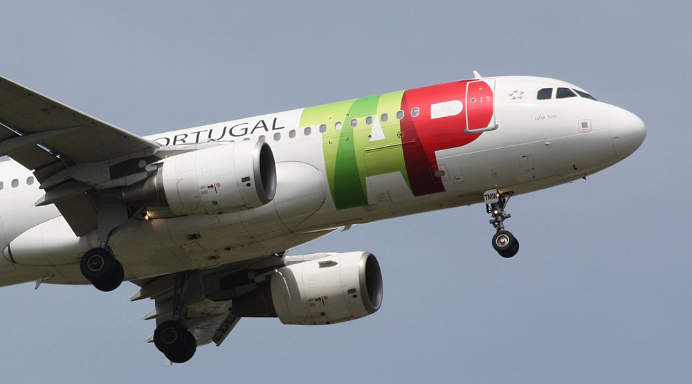 The aircraft on the return flight was an Airbus A319 © RHL Images