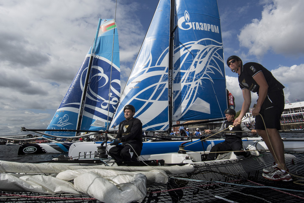 Oman Air, sister boat The Wave Muscat and Gazprom