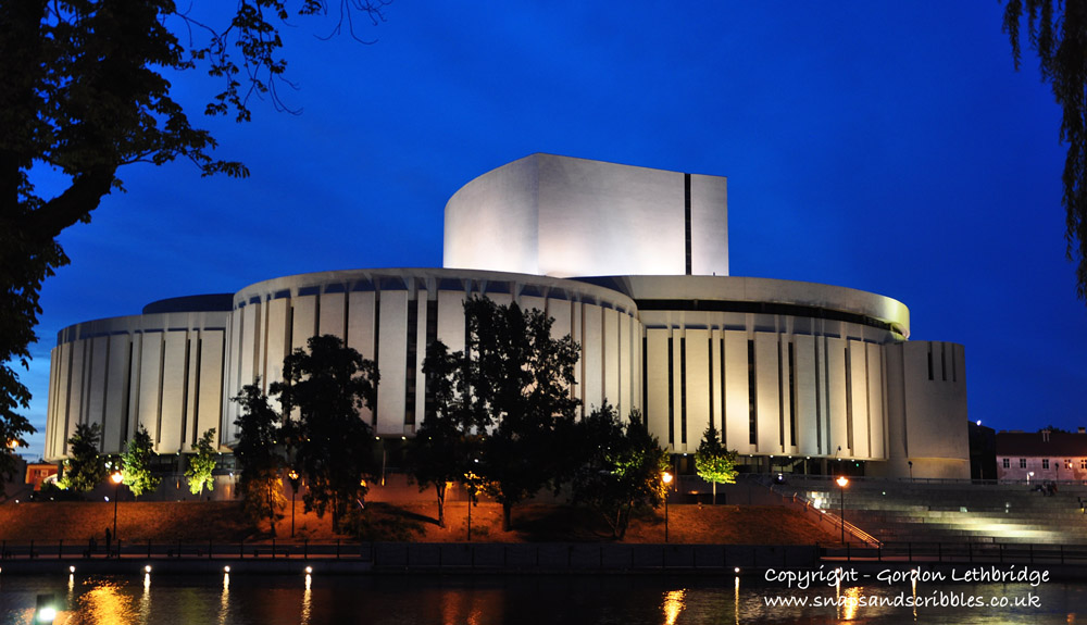 The modern Opera House home to Opera Nova
