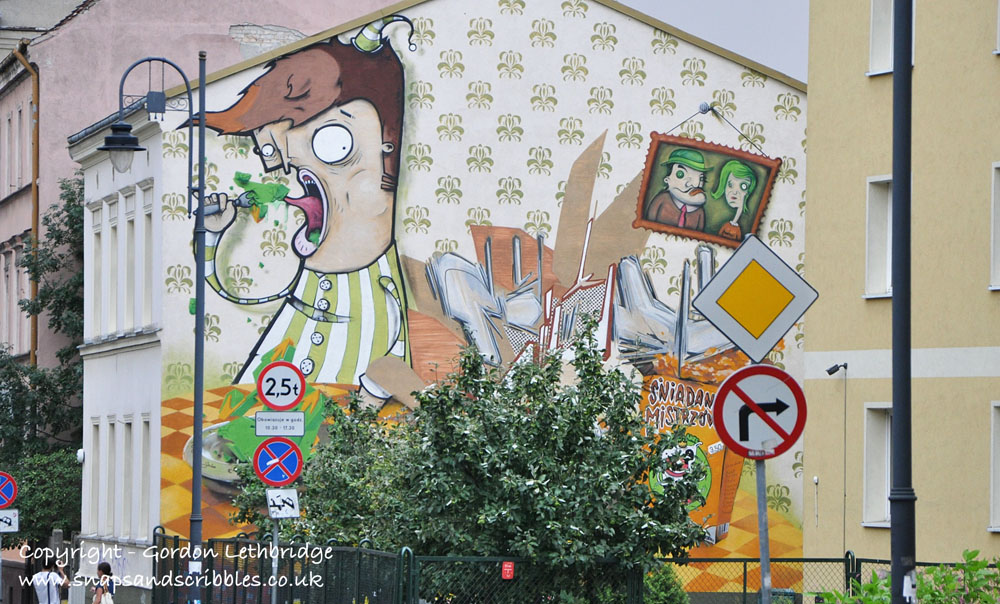 Bydgoszcz street art