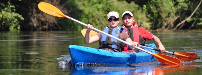 Kayaking to Bydgoszcz