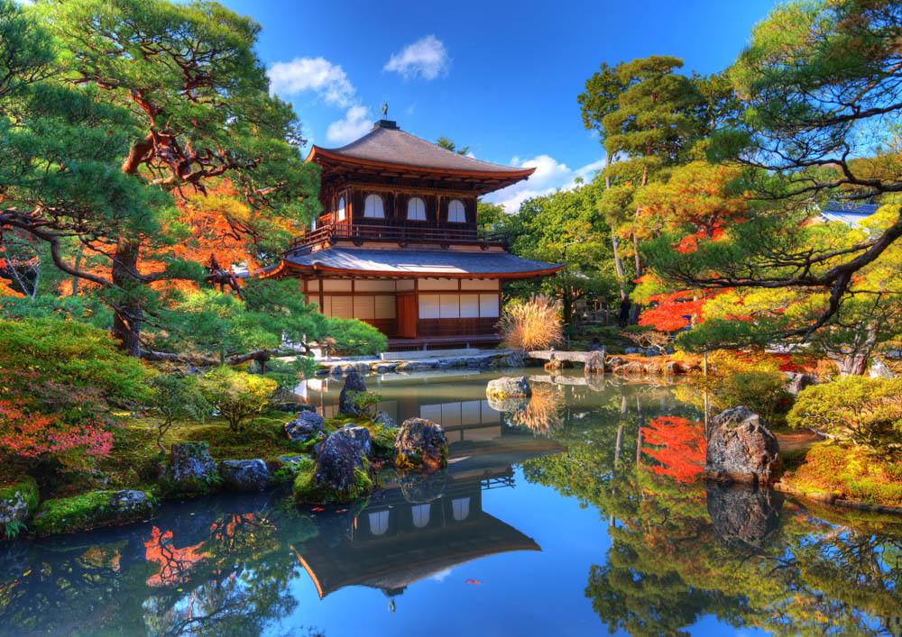 Ginkaku-ji  Temple in Kyoto © www.depositphotos.com/