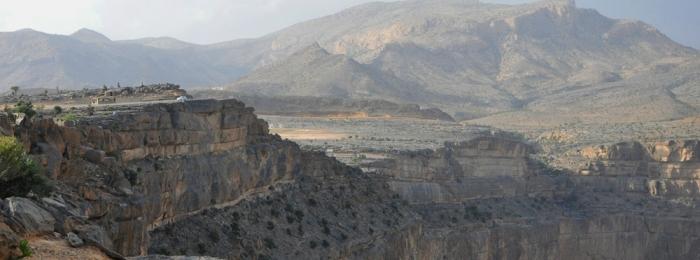 Visiting the Grand Canyon, Oman