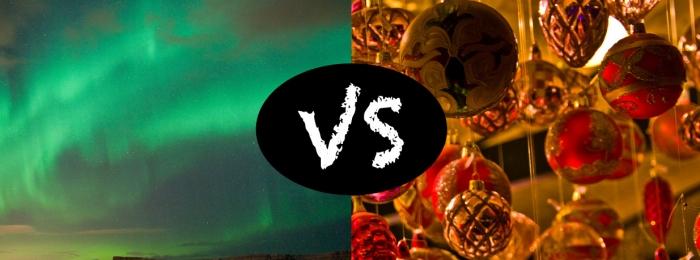 Northern Lights or Christmas lights?