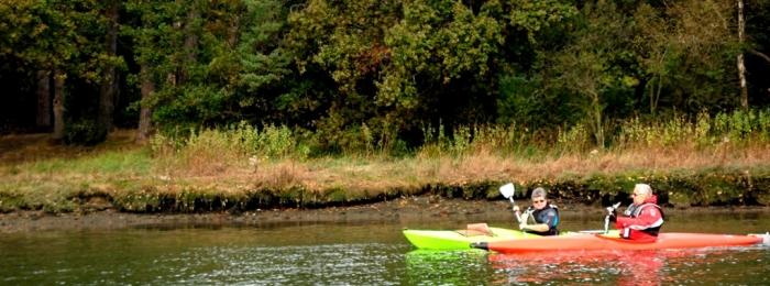 Kayaking the Hamble