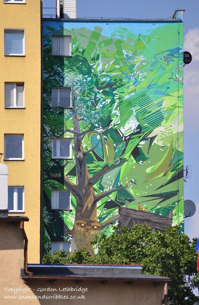Etam Cru's Mural reaches 10 storeys