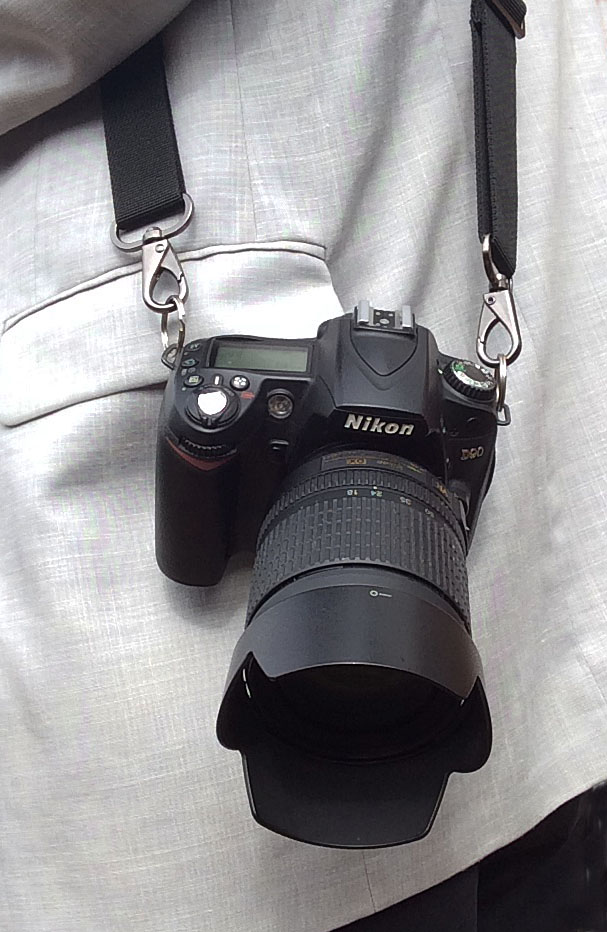 Using the iStay on my Nikon means the camera stays put