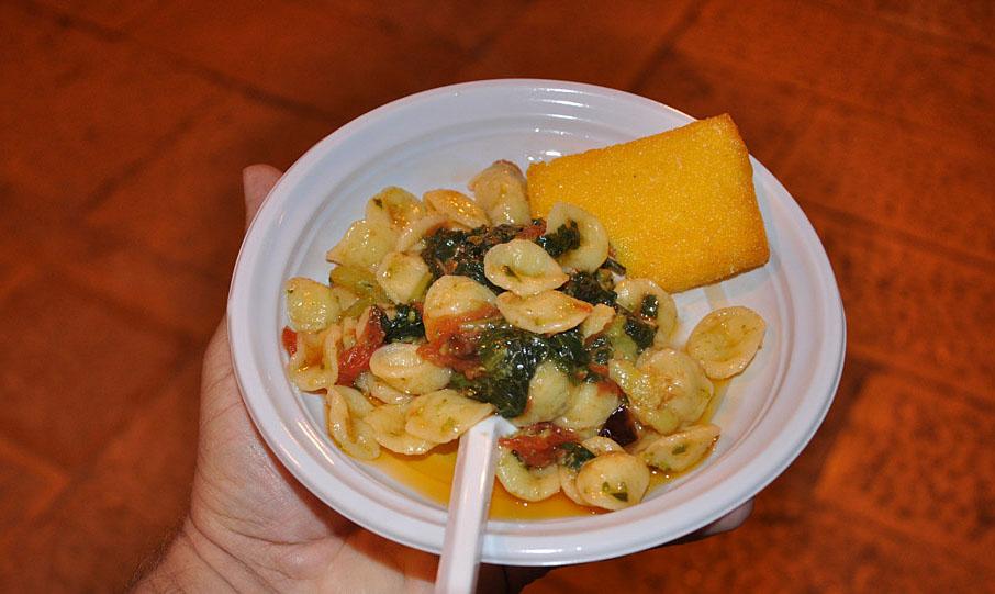 Street food in Bari at its best