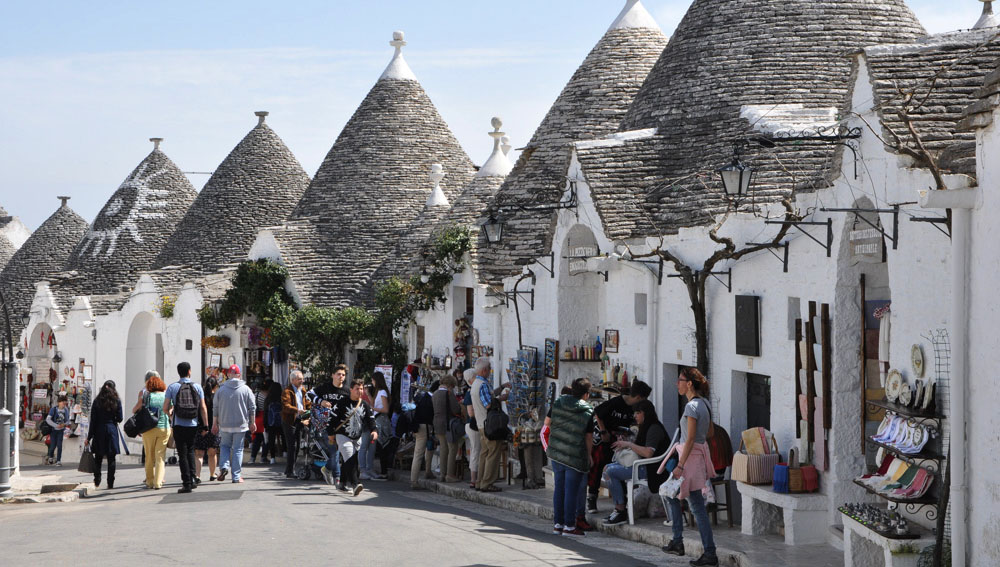 Trulli are a big tourist draw but still serve a purpose other than tourism.