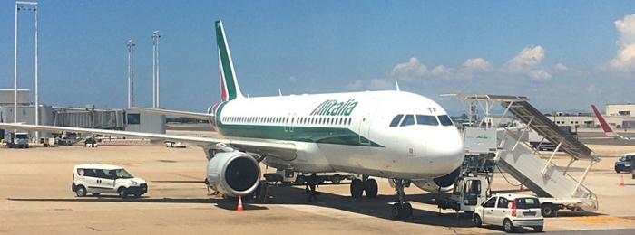 Airline Review: Alitalia