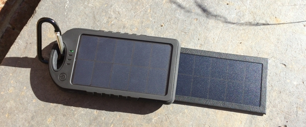 The MSC Travel Solar Power Charger