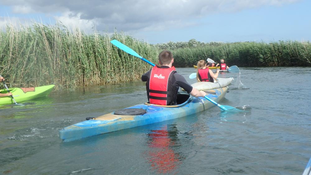The 'Aqua Trek' is great to take along on a kayaking trip