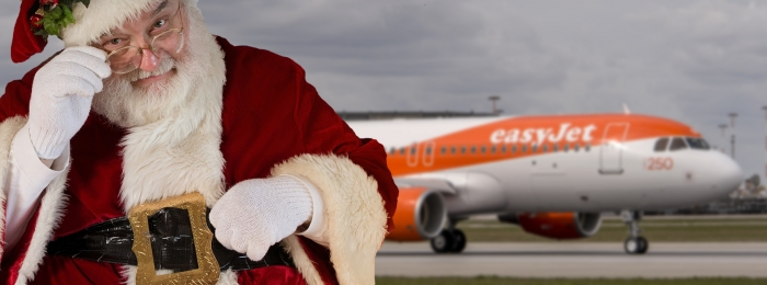An easyjet story for Christmas