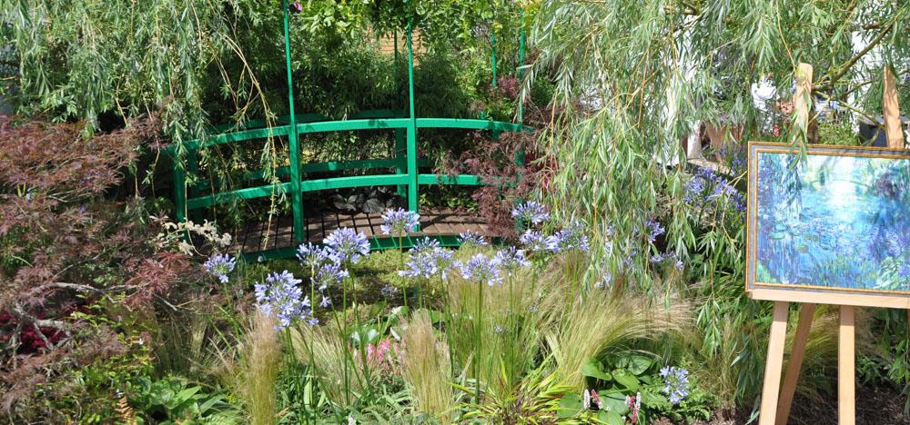 Impressionist inspired garden