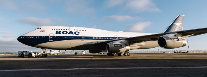 BOAC returns to the skies